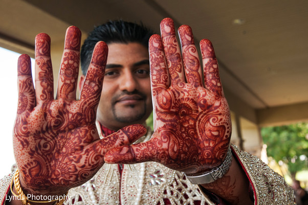 Mehndi in Brentwood, CA Indian Fusion Wedding by Lynds Photography