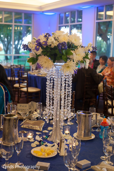 Floral & Decor in Brentwood, CA Indian Fusion Wedding by Lynds Photography