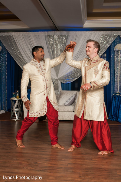 Reception in Brentwood, CA Indian Fusion Wedding by Lynds Photography