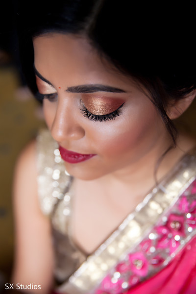 Makeup in Uniondale, NY Indian Wedding by SX Studios