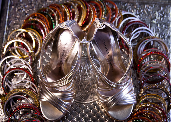 Shoes in Uniondale, NY Indian Wedding by SX Studios