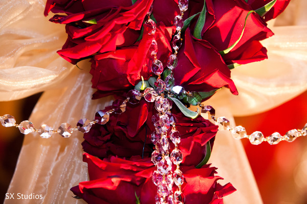 Floral & Decor in Uniondale, NY Indian Wedding by SX Studios