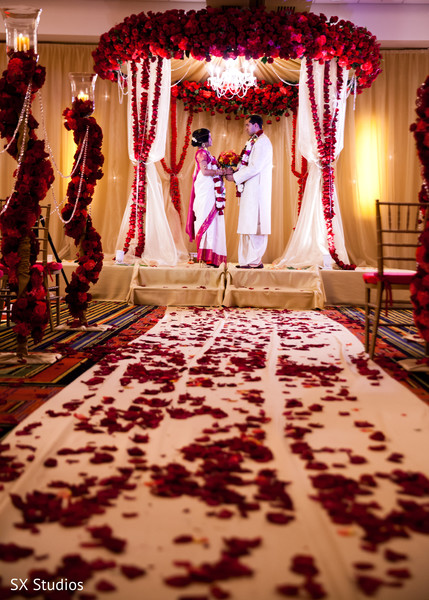 Wedding Portrait in Uniondale, NY Indian Wedding by SX Studios