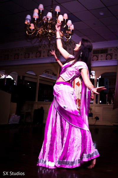 Reception in Uniondale, NY Indian Wedding by SX Studios