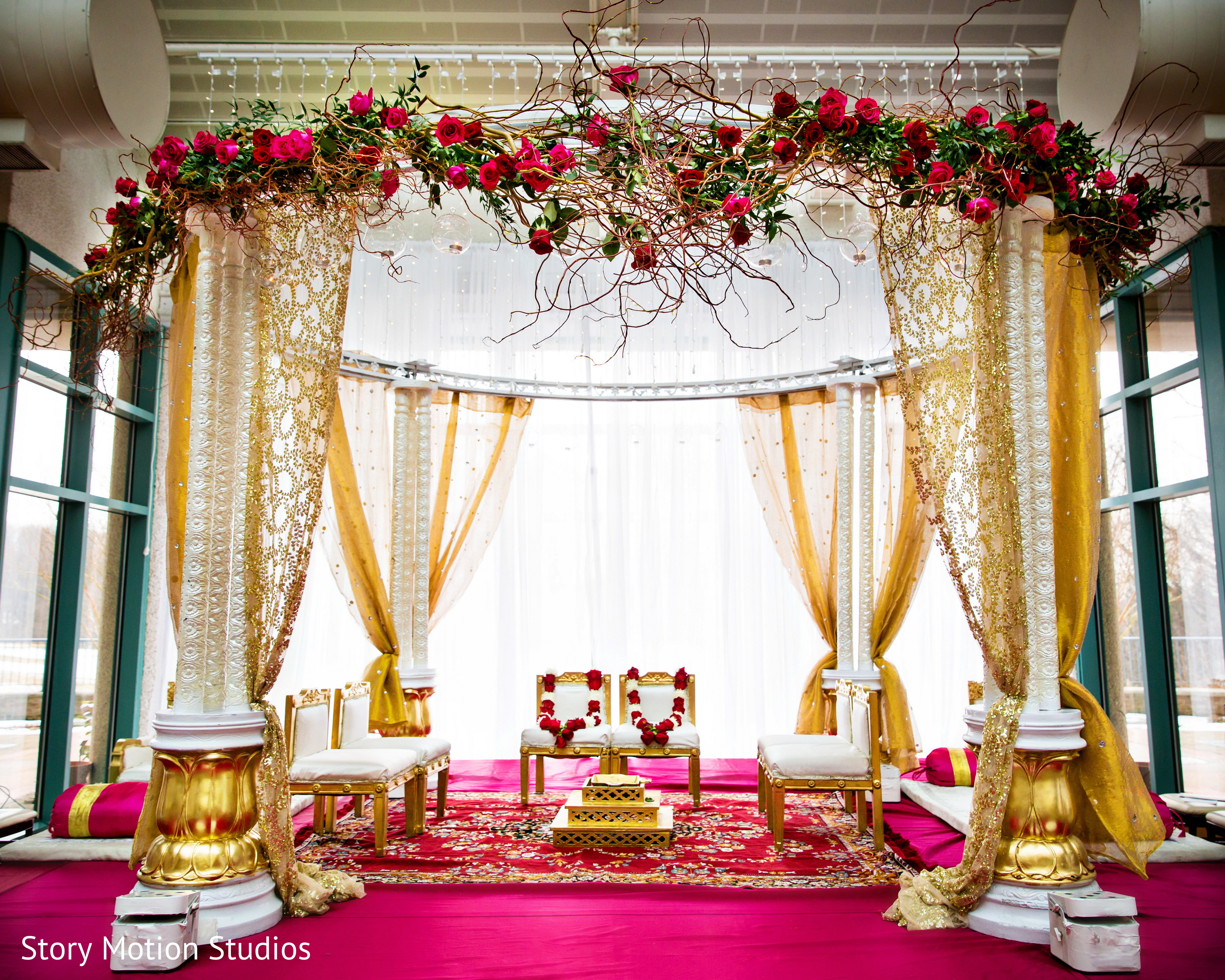 Chantilly, VA Indian Wedding by Story Motion Studios