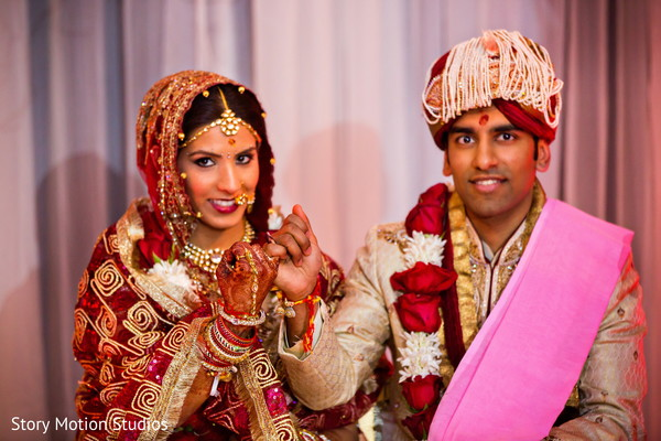 Ceremony in Chantilly, VA Indian Wedding by Story Motion Studios