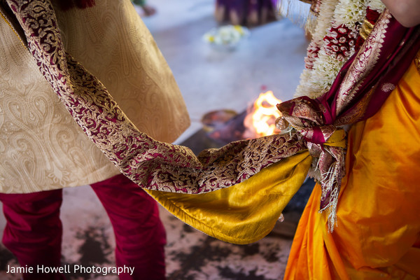 Ceremony in Atlanta, GA Indian Wedding by Jamie Howell Photography
