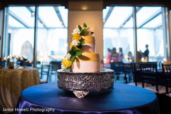 Wedding Cake in Atlanta, GA Indian Wedding by Jamie Howell Photography