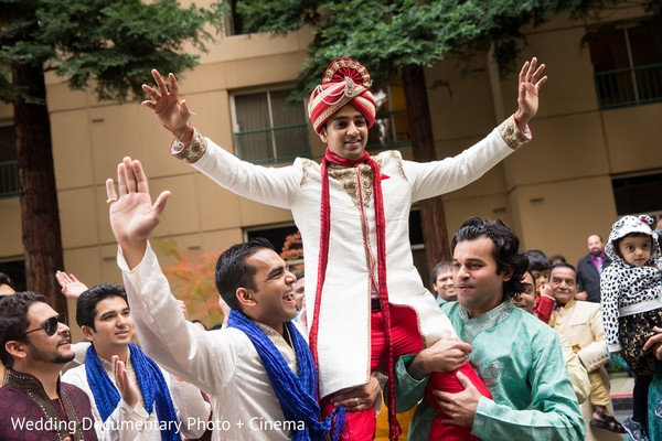 Baraat in San Ramon, CA Indian Wedding by Wedding Documentary Photo + Cinema