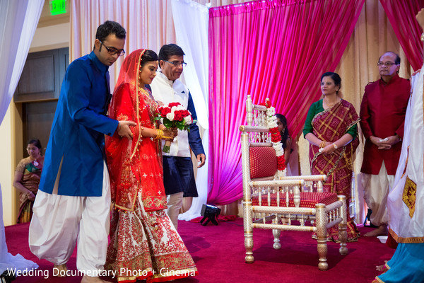 Ceremony in San Ramon, CA Indian Wedding by Wedding Documentary Photo + Cinema