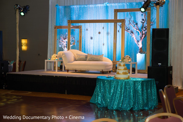 Reception in San Ramon, CA Indian Wedding by Wedding Documentary Photo + Cinema
