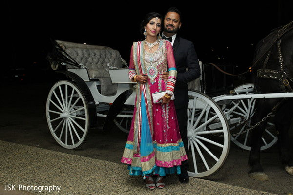 Reception in Selma, CA Sikh Indian Wedding by JSK Photography
