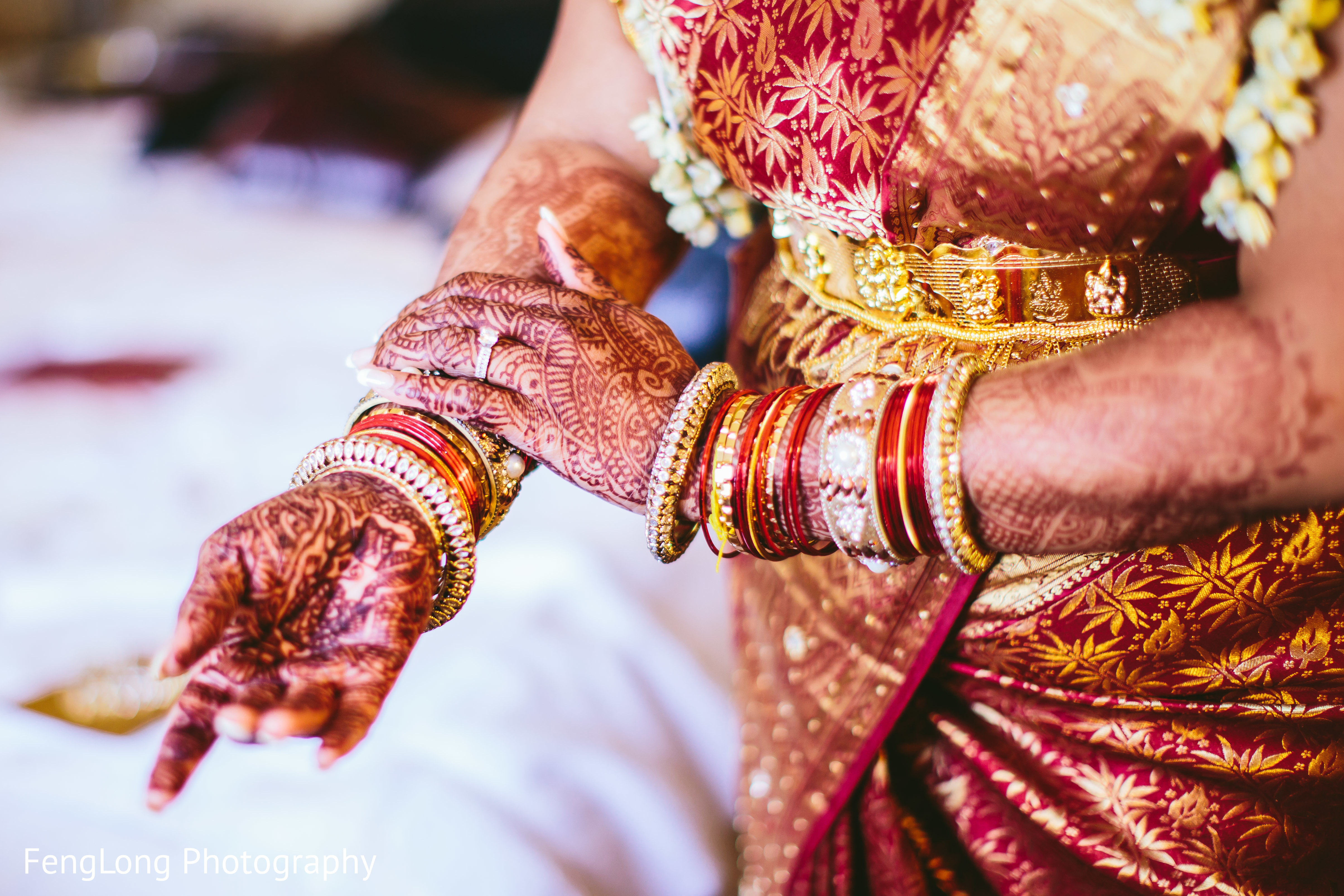 Augusta, GA South Indian Wedding by FengLong Photography