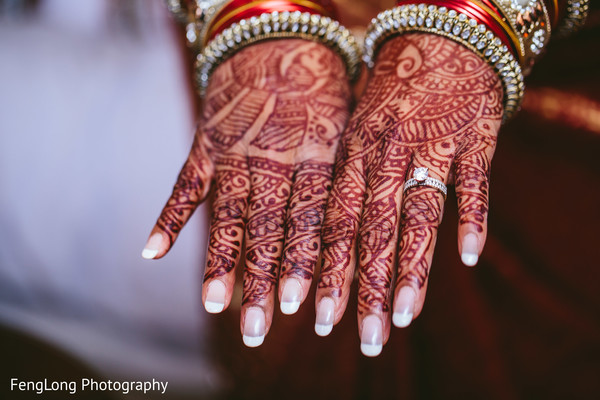 Getting Ready in Augusta, GA South Indian Wedding by FengLong Photography