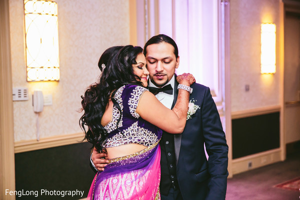 Reception in Augusta, GA South Indian Wedding by FengLong Photography