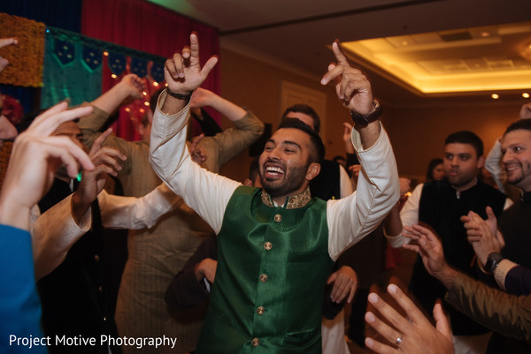 Mehndi Celebration in Tysons Corner, VA Pakistani Wedding by Project Motive Photography