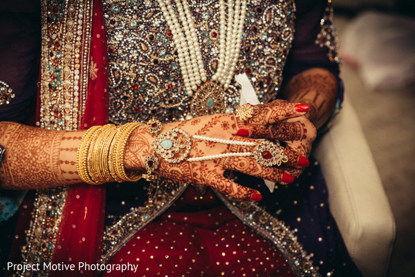 Getting Ready in Tysons Corner, VA Pakistani Wedding by Project Motive Photography