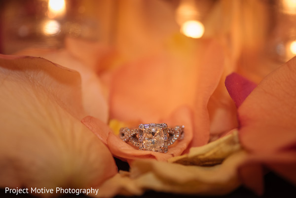 Ring in Tysons Corner, VA Pakistani Wedding by Project Motive Photography