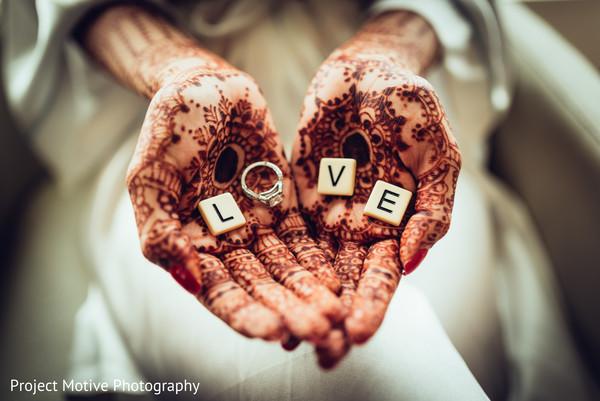 Mehndi Hands With Engagement Ring : Tysons corner va pakistani wedding by project motive