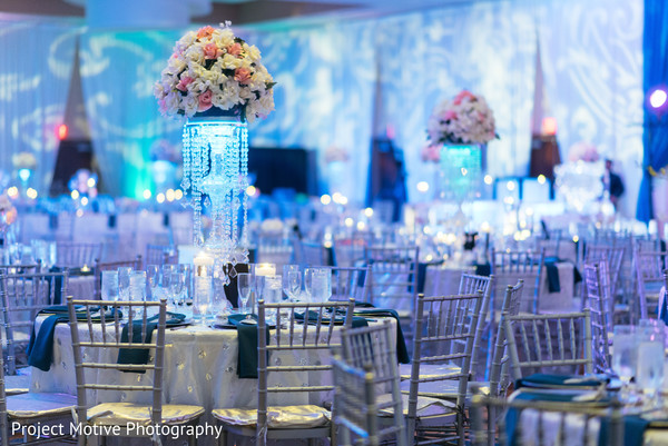 Floral & Decor in Tysons Corner, VA Pakistani Wedding by Project Motive Photography
