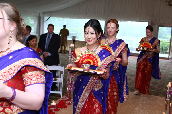 Ceremony in Itasca, IL Indian Wedding by Aria Fine Art Films