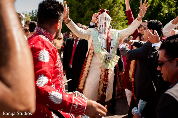 Baraat in Ontario, Canada Sikh Indian Wedding by Banga Studios