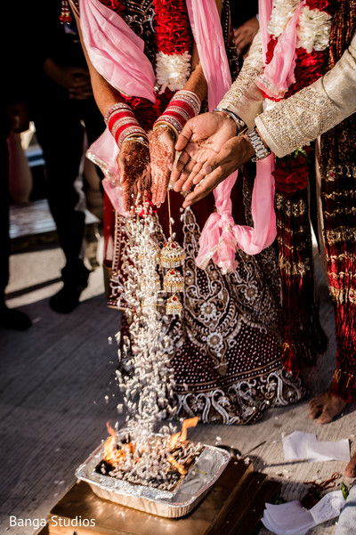 Ceremony in Ontario, Canada Sikh Indian Wedding by Banga Studios