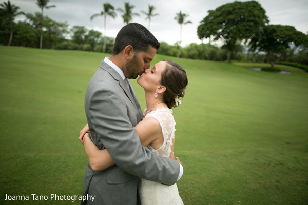 Portraits in Maui, Hawaii Destination Indian Wedding by Joanna Tano Photography