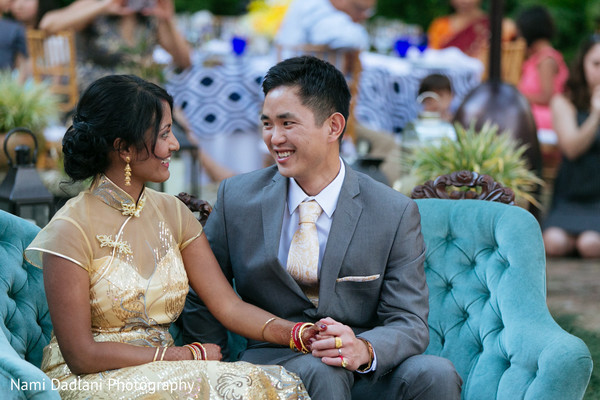 Reception in Fort Lauderdale, FL Indian-Chinese Fusion Wedding by Nami Dadlani Photography