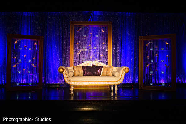 Reception Decor in Baltimore, MD Sikh Indian Wedding by Photographick Studios