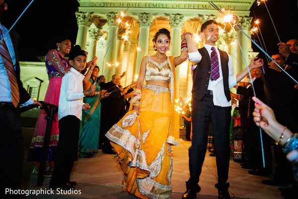 Reception in Baltimore, MD Sikh Indian Wedding by Photographick Studios