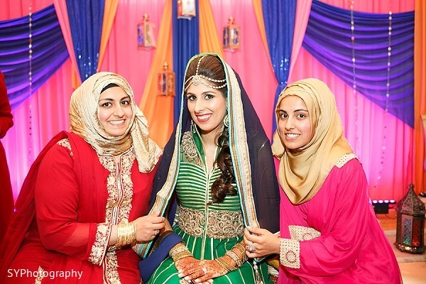 Mehndi Celebration in Woodbury, NY Pakistani Wedding by SYPhotography