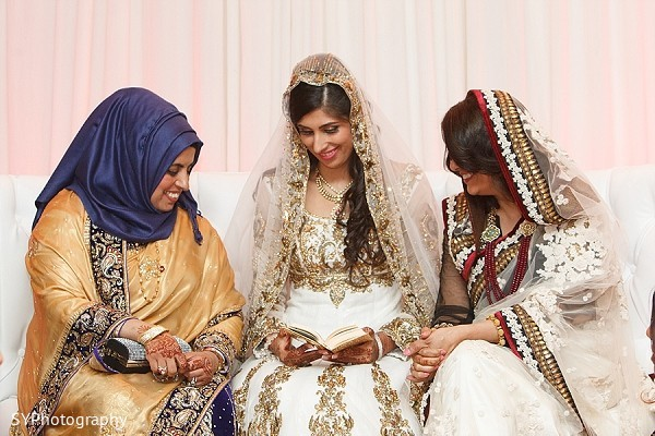 Ceremony in Woodbury, NY Pakistani Wedding by SYPhotography