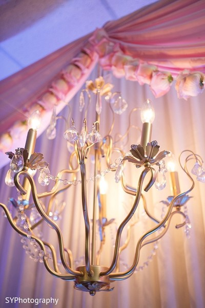 Floral & Decor in Woodbury, NY Pakistani Wedding by SYPhotography