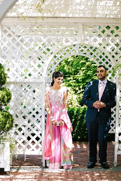Reception Portraits in Woodbury, NY Pakistani Wedding by SYPhotography