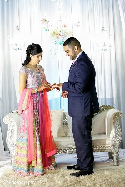 Reception in Woodbury, NY Pakistani Wedding by SYPhotography