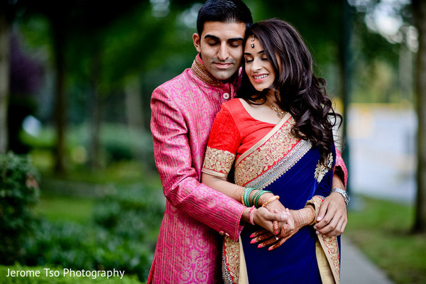 Pre-Wedding Portraits in Seattle, WA Indian Wedding by Jerome Tso Photography