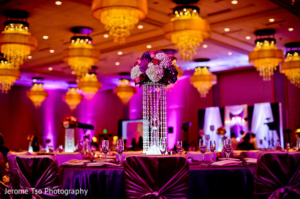 Reception Decor in Seattle, WA Indian Wedding by Jerome Tso Photography