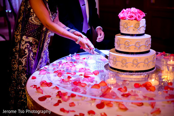Reception in Seattle, WA Indian Wedding by Jerome Tso Photography