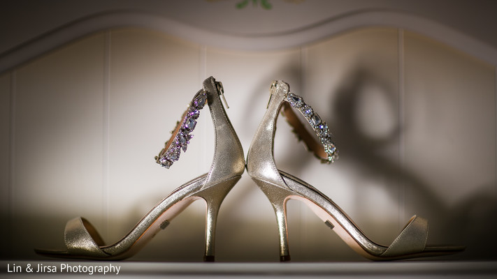 Shoes in Yorba Linda, CA Pakistani Indian Fusion Wedding by Lin & Jirsa Photography