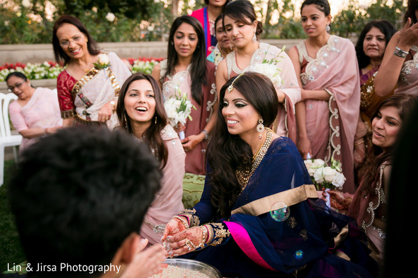 Ceremony in Yorba Linda, CA Pakistani Indian Fusion Wedding by Lin & Jirsa Photography