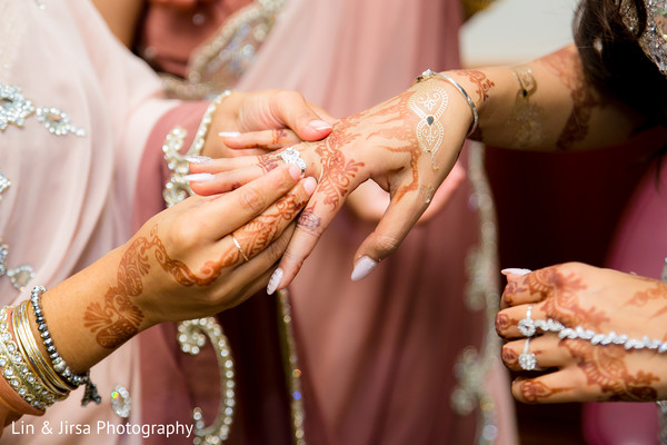 Getting Ready in Yorba Linda, CA Pakistani Indian Fusion Wedding by Lin & Jirsa Photography