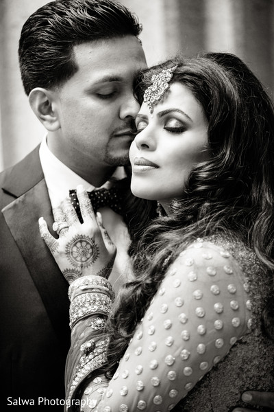 Portraits in New York, New York Indian Wedding by Salwa Photography