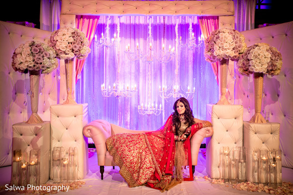 Reception in New York, New York Indian Wedding by Salwa Photography