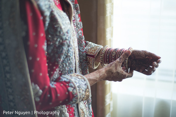 Getting Ready in Atlanta, GA Pakistani Indian Fusion Wedding by Peter Nguyen Photography