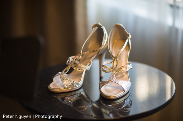 Shoes in Atlanta, GA Pakistani Indian Fusion Wedding by Peter Nguyen Photography