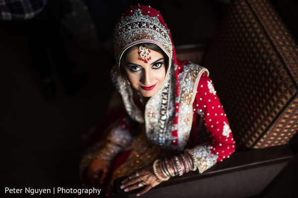 Bridal Portrait in Atlanta, GA Pakistani Indian Fusion Wedding by Peter Nguyen Photography