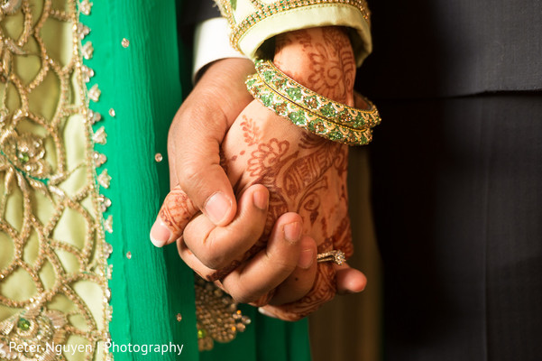 Wedding Portrait in Atlanta, GA Pakistani Indian Fusion Wedding by Peter Nguyen Photography