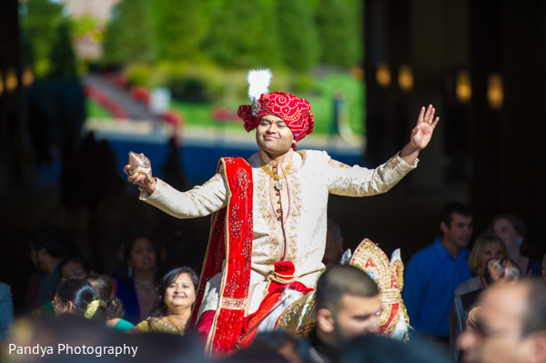Baraat in Cedar Grove, New Jersey Indian Wedding by Pandya Photography