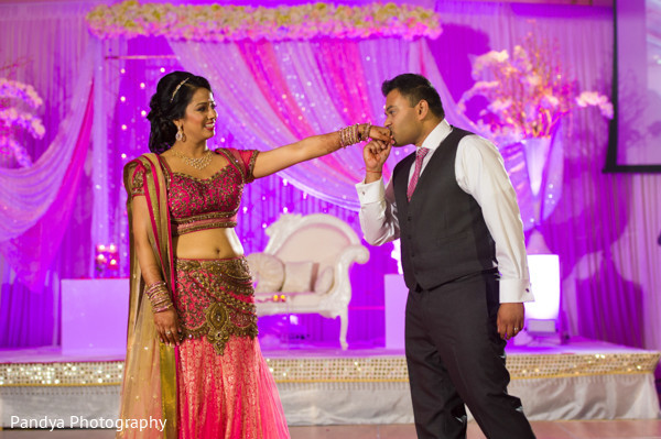 Reception in Cedar Grove, New Jersey Indian Wedding by Pandya Photography